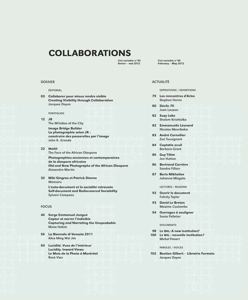 CIEL VARIABLE 90 - COLLABORATIONS