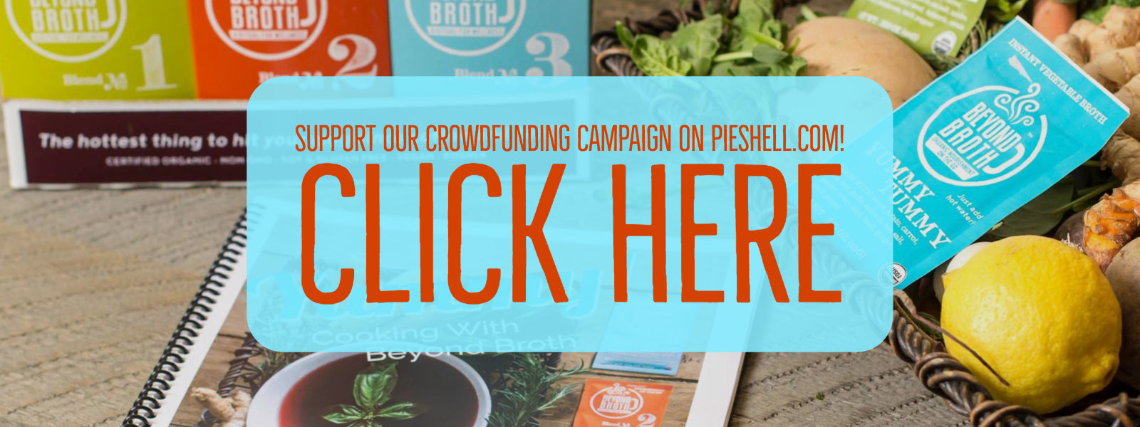 Support our PieShell.com Crowdfunding Campaign!