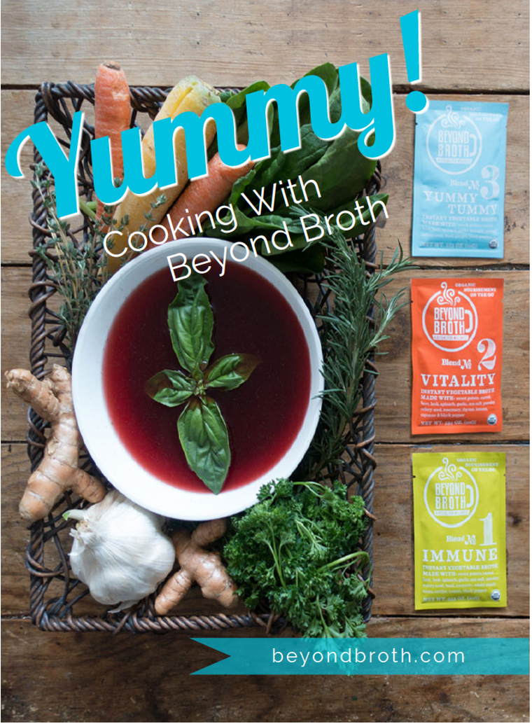 Yummy...Cooking with Beyond Broth!
