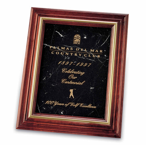 Marble Plaque Award