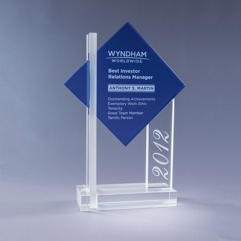 Blue Ultra Crystal Award