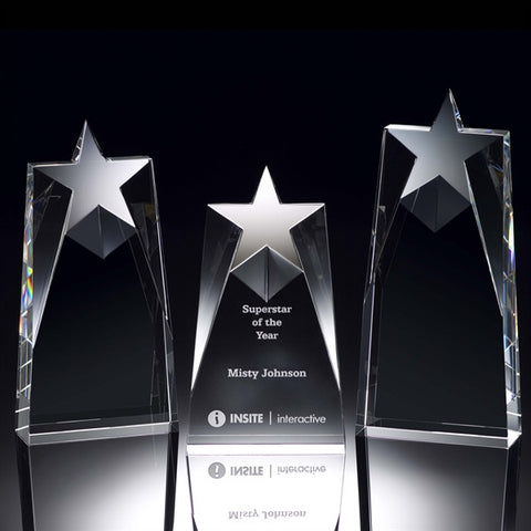 Star Elegance Crystal Award