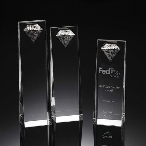 Diamond Crystal Wedge Award