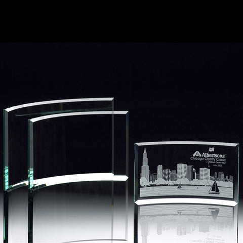 Contour Deluxe Jade Glass Award