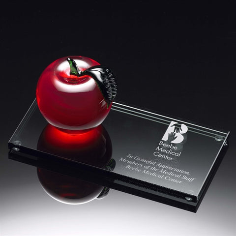 Glass Apple Desktop Award