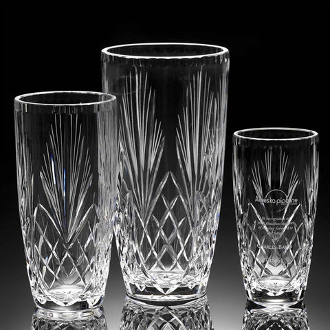 Crystal Vases Engraved Recognition Source Tagged Vases Bowls