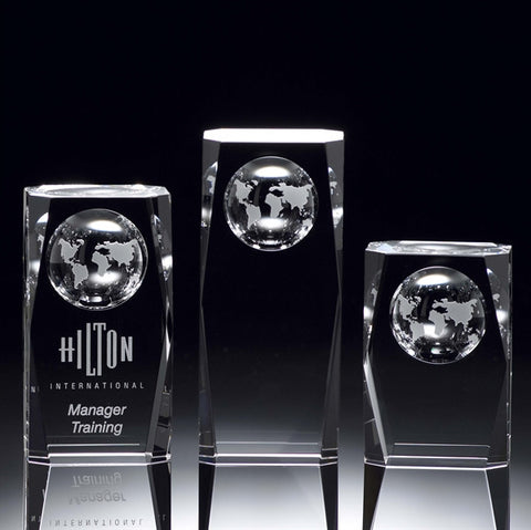 Crystal Globe Column Award