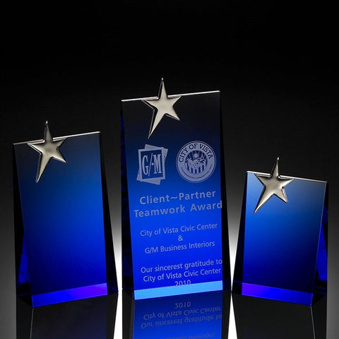 Blue Wedge Star Award