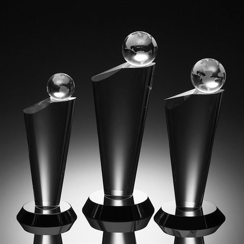 Equator Crystal Globe Award