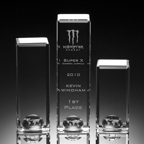 World Tower Crystal Award