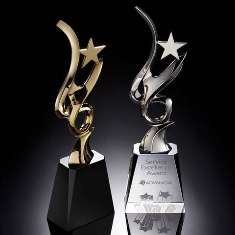 Star Glory Crystal Award