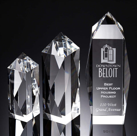 Liberty Obelisk Crystal Award