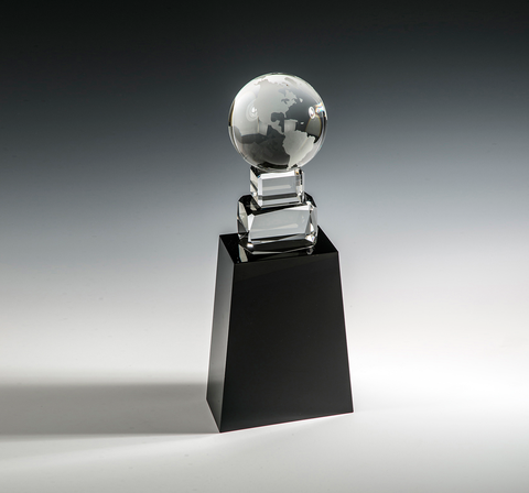 Around the World Crystal Award