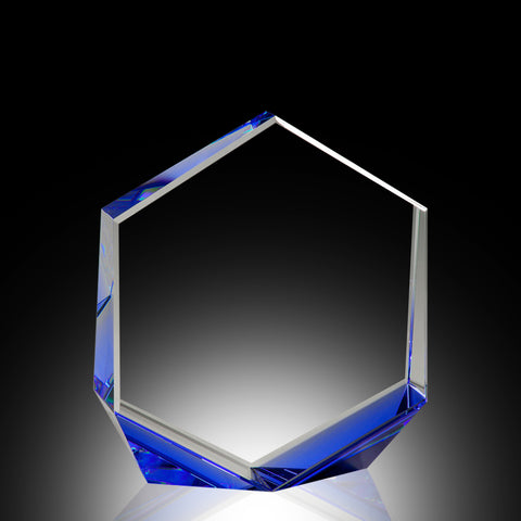 Blue Bromium Crystal Award