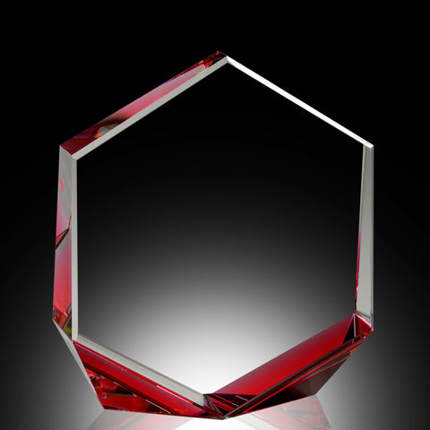 Red Bromium Crystal Award
