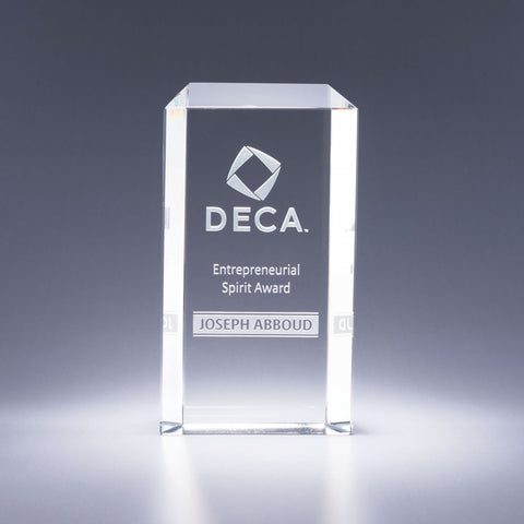 Entrepreneur Crystal Award
