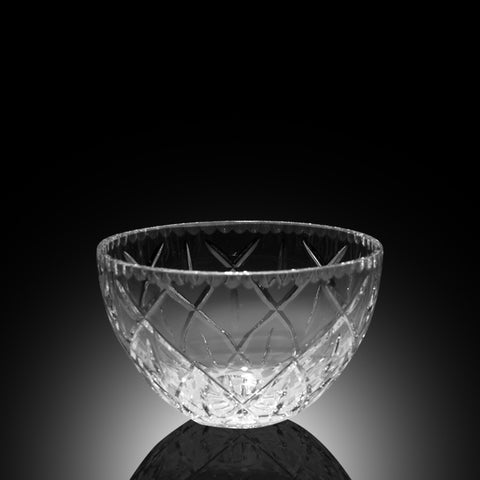 Harlequin Crystal Bowl