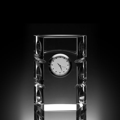Circle Column Crystal Clock