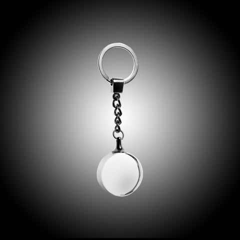 Circle Crystal Keychain