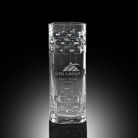 Crystal Vases Engraved Recognition Source
