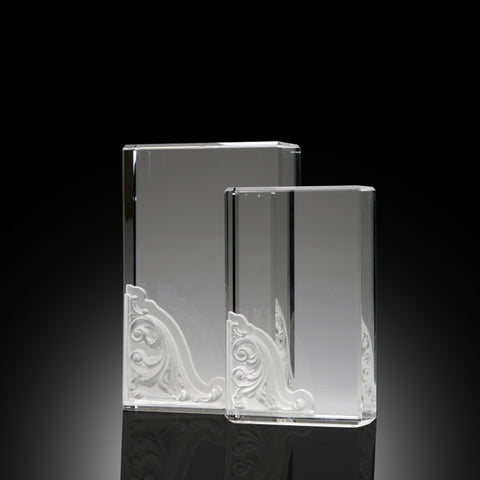 Corinthian Block Elite Crystal Award