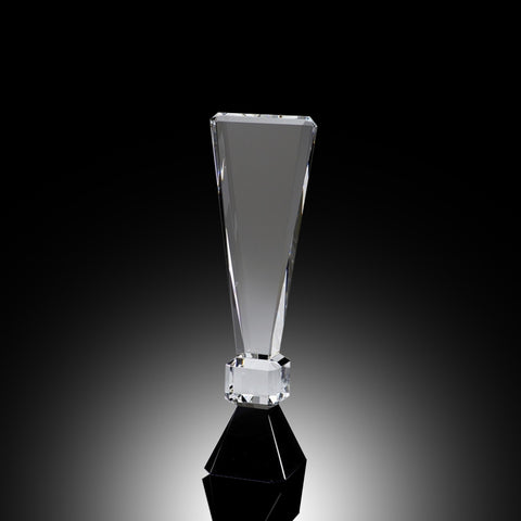 Exclamation Point Elite Crystal Award
