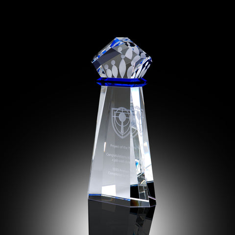 Crown Achievement Elite Crystal Award