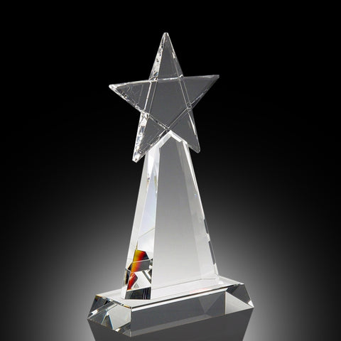 Stardom Elite Crystal Award