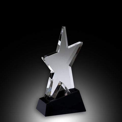 Superstar Elite Crystal Award