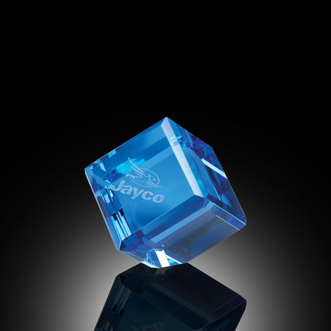 Blue Director's Crystal Cube