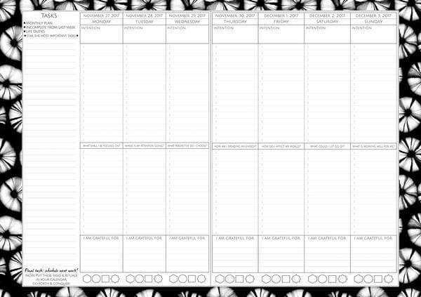 photograph relating to Blank Planner known as Rituals For Residing Dreambook + Planner (Dated 2020 Variation)