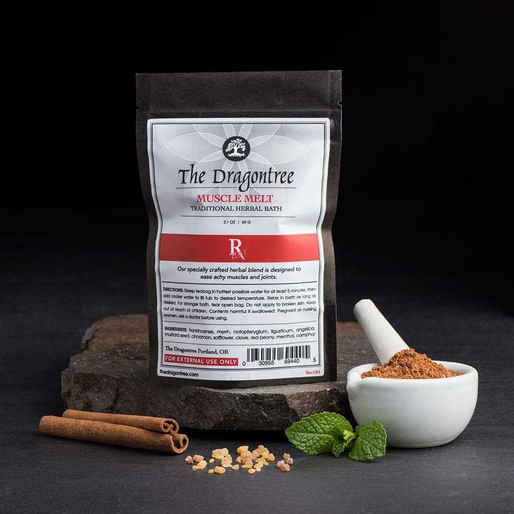 Muscle Melt Herbal Bath | The Dragontree Apothecary