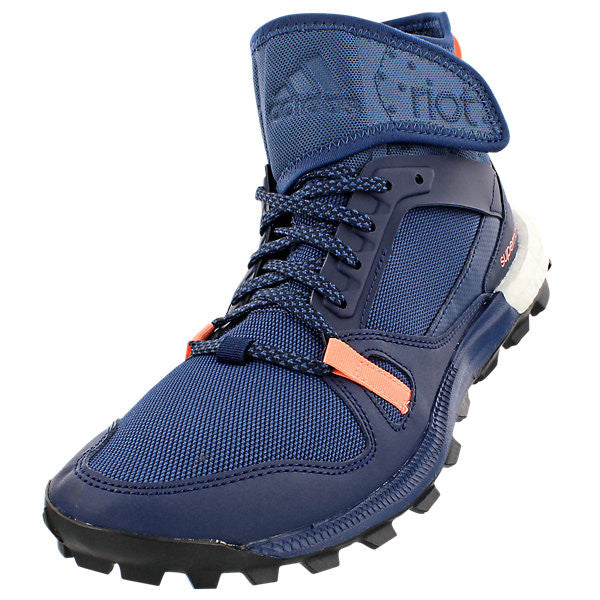 Adidas Outdoor Women's Riot Boost Shoes - Mineral Blue/Collegiate Navy/Sun Glow
