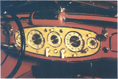 Mercedes Instrument Faces with Bezels  - M026
