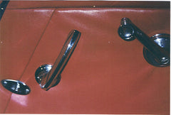 Window Cranks with Bezels  - M012