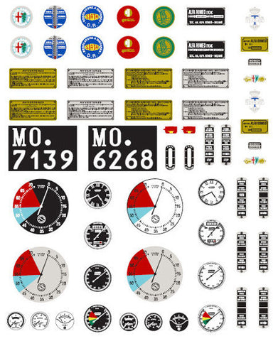 Decal Sheet  - A008