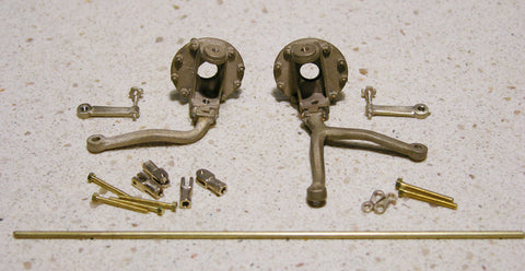 Alfa Steering and Front Brake Assembly - A037