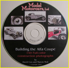 Building the Alfa Coupe - D008