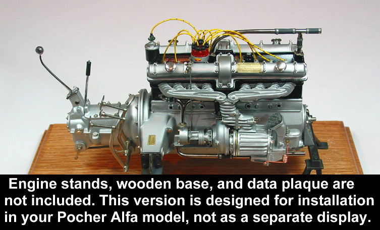 Alfa Engine Kit (not for display) - A001a