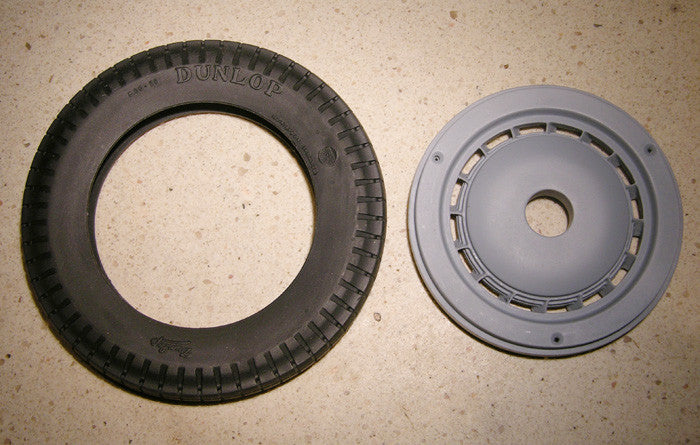 Bugatti Replacement Tire and Wheel - B022