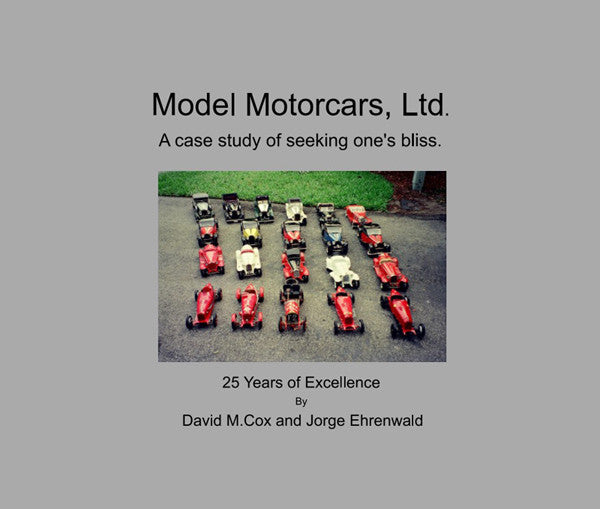 Model Motorcars, Ltd - 25th Year Anniversary Book