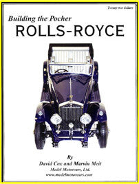 Book - Pocher Rolls-Royce - K003