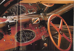 Bugatti Gauges, lenses and Model Motorcar bezels - B011