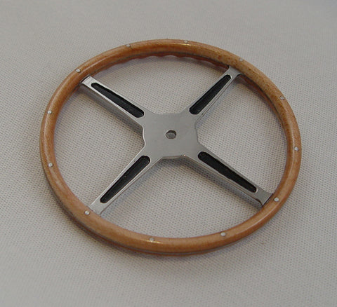 Steering Wheel, Real Maple - S003