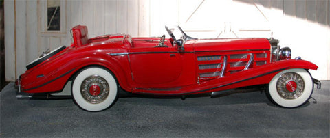 Mercedes-Benz Spezial Roadster - e-Journal - E005
