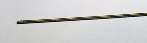 Rod - Threaded Brass - 2.0 X 120 mm - K114