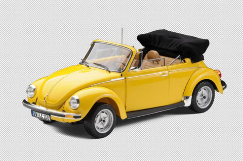 1976 VW Beetle Cabriolet - yellow - LE100