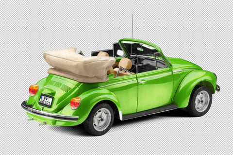 1976 VW Beetle Cabriolet - Green - LE101