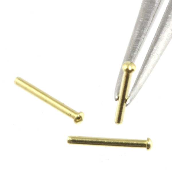 Rivet - 0.5 mm Head Diameter - Brass - RT05
