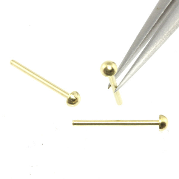 Rivet - 1.6 mm Head Diameter - Brass - RT16